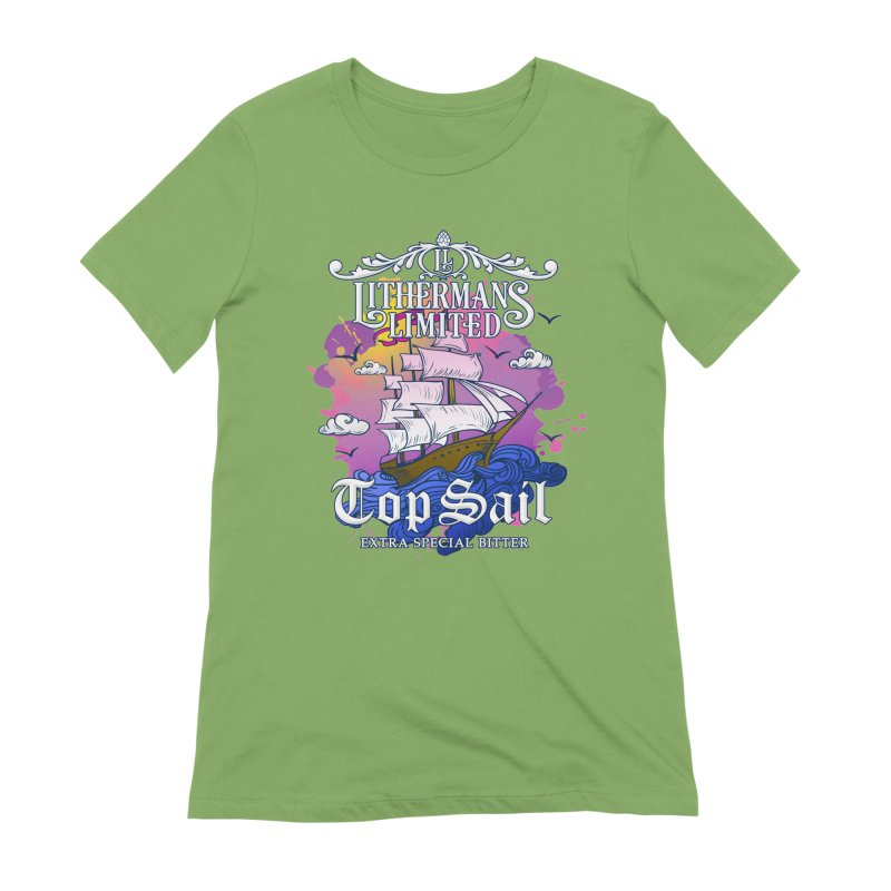 Top Sail Women's Extra Soft T-Shirt by Lithermans Limited Print Shop