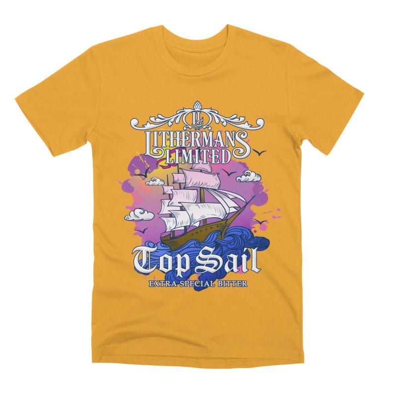 Top Sail Men's Premium T-Shirt by Lithermans Limited Print Shop