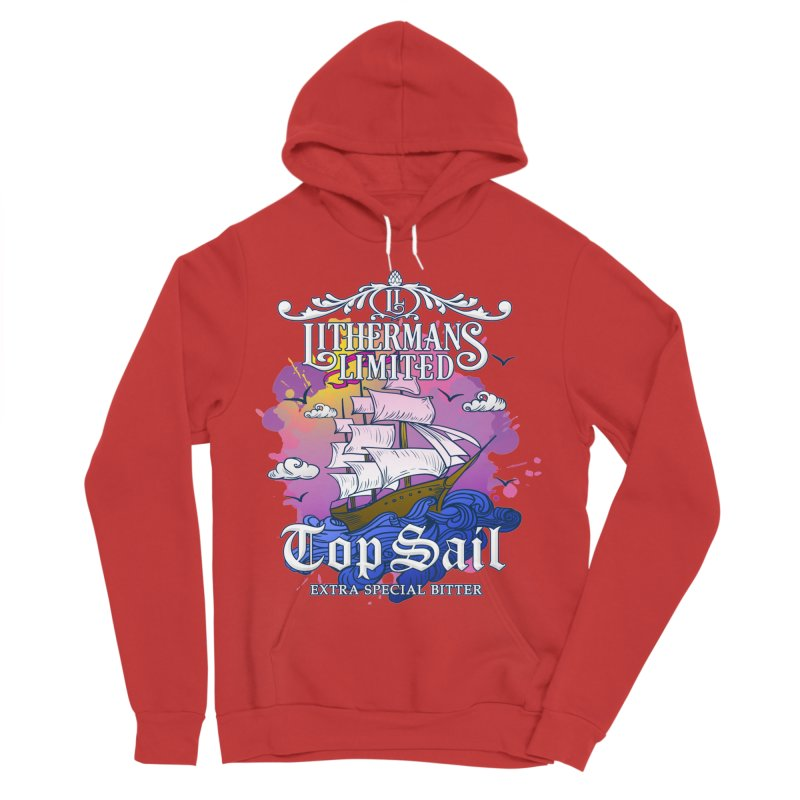 Top Sail Men's Sponge Fleece Pullover Hoody by Lithermans Limited Print Shop
