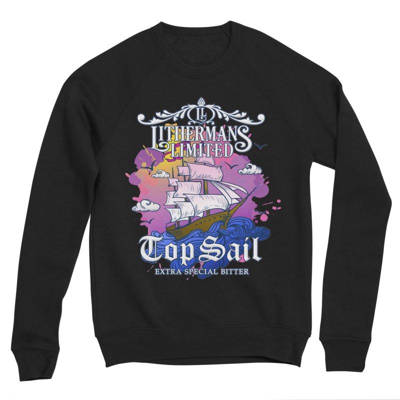 Top Sail Men's Sponge Fleece Sweatshirt by Lithermans Limited Print Shop