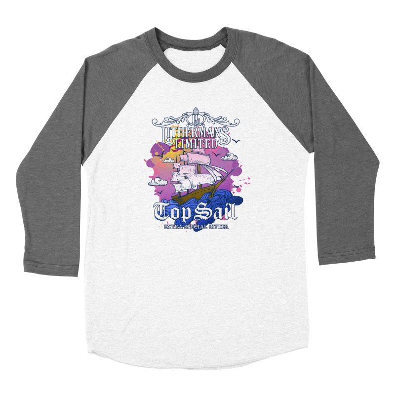 Top Sail Women's Baseball Triblend Longsleeve T-Shirt by Lithermans Limited Print Shop