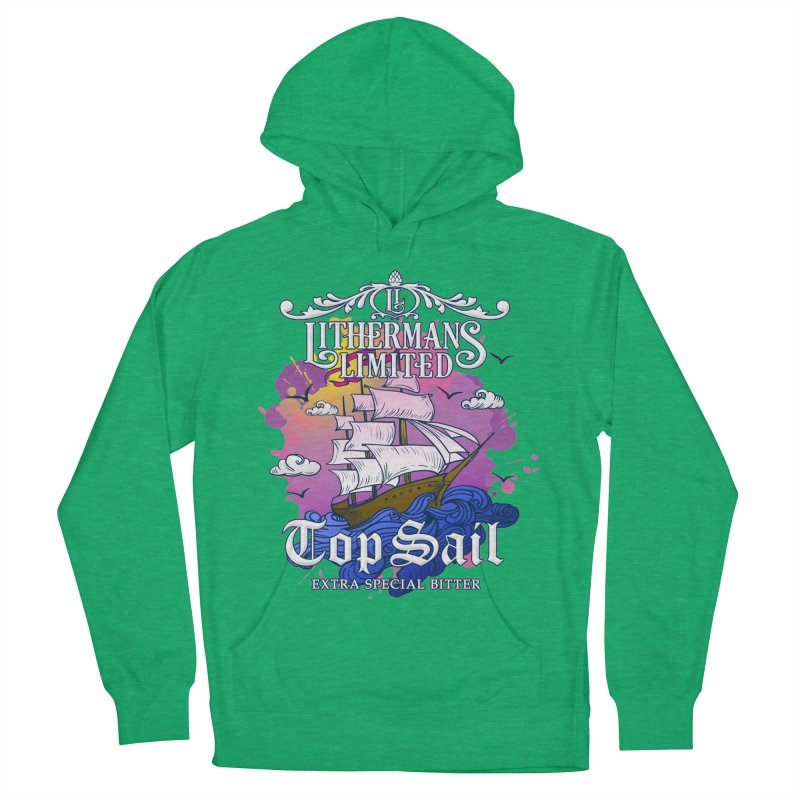 Top Sail Women's French Terry Pullover Hoody by Lithermans Limited Print Shop