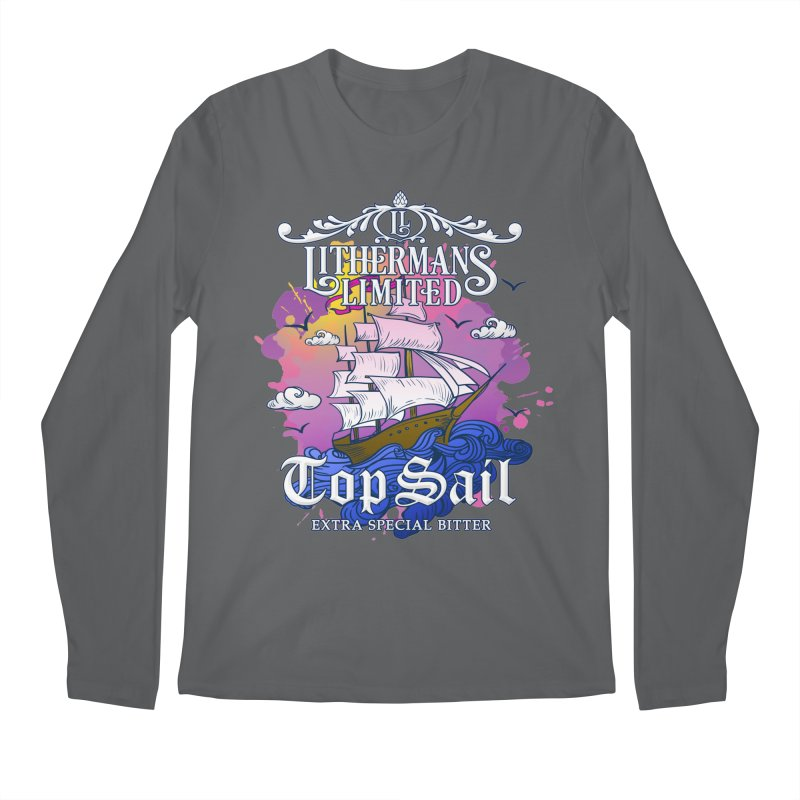 Top Sail Men's Regular Longsleeve T-Shirt by Lithermans Limited Print Shop