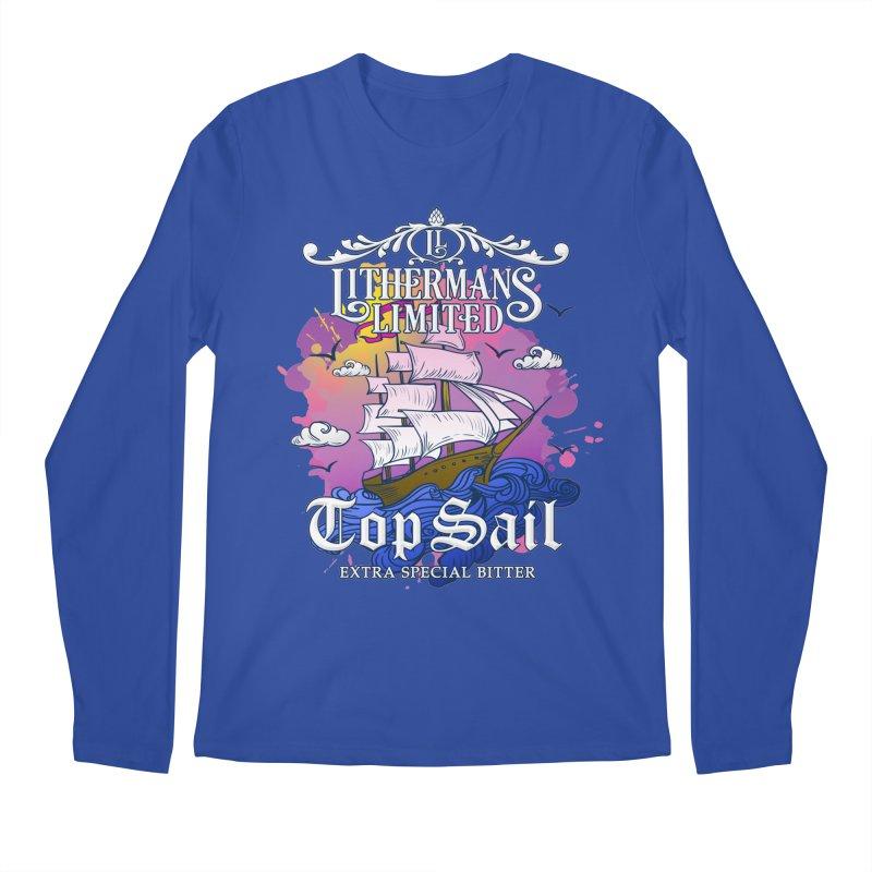 Top Sail Men's Regular Longsleeve T-Shirt by Lithermans Limited Print Shop