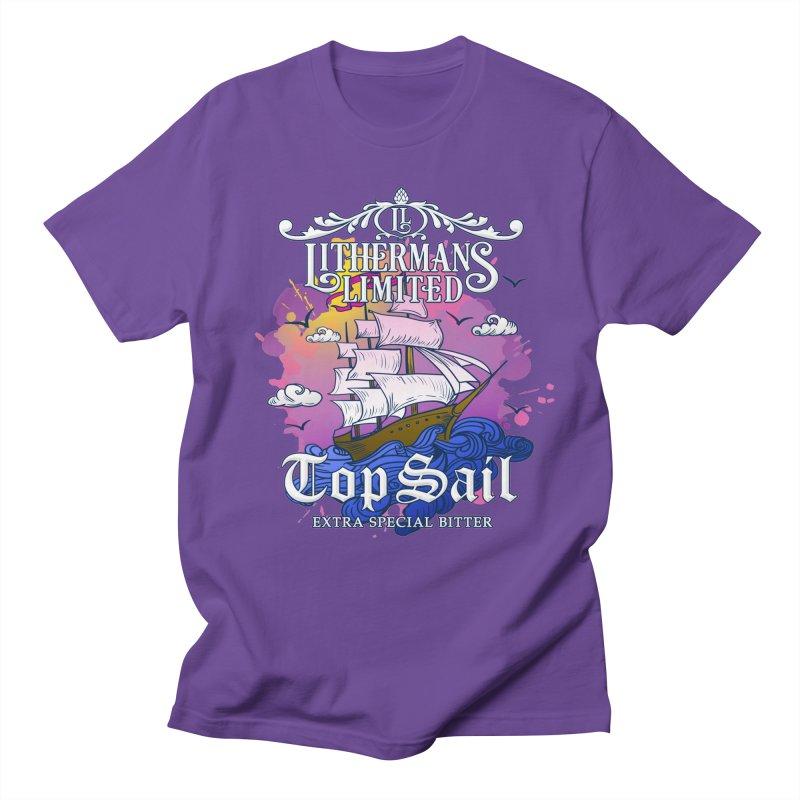 Top Sail Men's Regular T-Shirt by Lithermans Limited Print Shop
