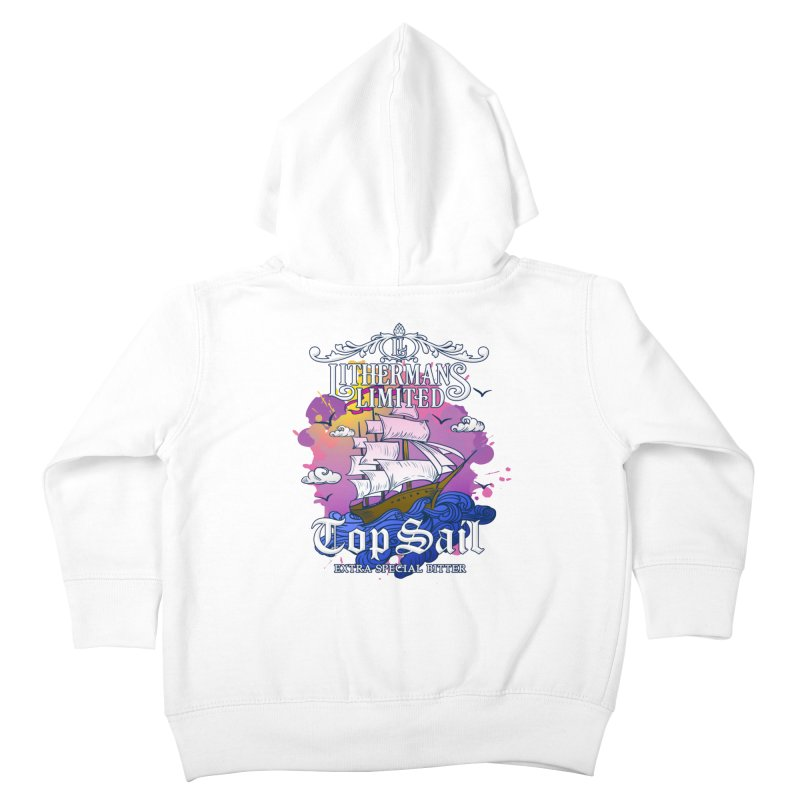Top Sail Kids Toddler Zip-Up Hoody by Lithermans Limited Print Shop