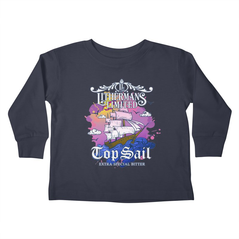 Top Sail Kids Toddler Longsleeve T-Shirt by Lithermans Limited Print Shop