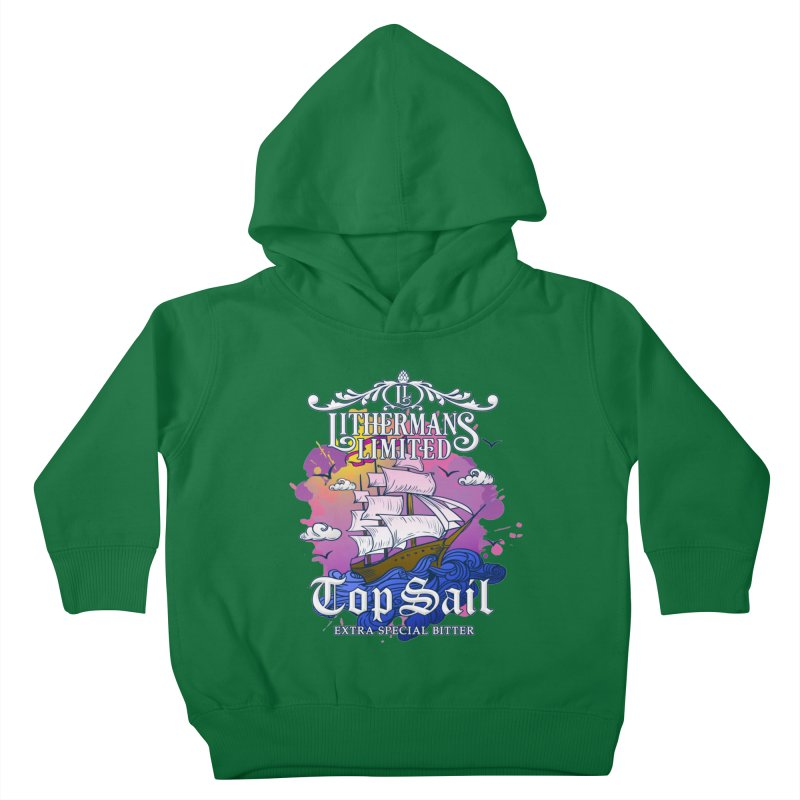 Top Sail Kids Toddler Pullover Hoody by Lithermans Limited Print Shop