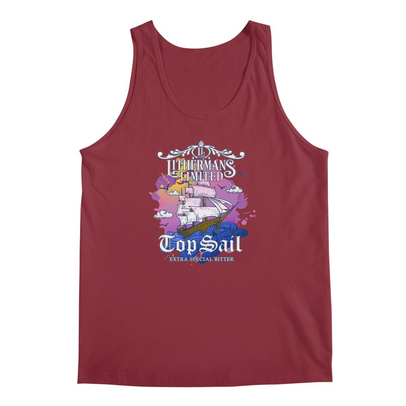Top Sail Men's Regular Tank by Lithermans Limited Print Shop