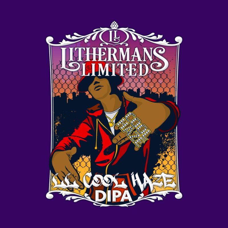 LL Cool Haze Men's T-Shirt by Lithermans Limited Print Shop