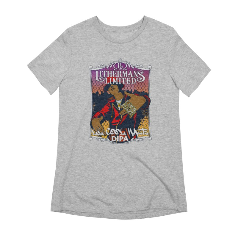LL Cool Haze Women's Extra Soft T-Shirt by Lithermans Limited Print Shop
