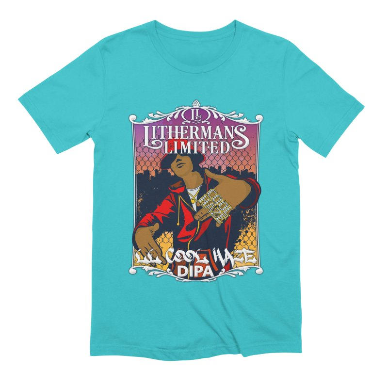 LL Cool Haze Men's Extra Soft T-Shirt by Lithermans Limited Print Shop