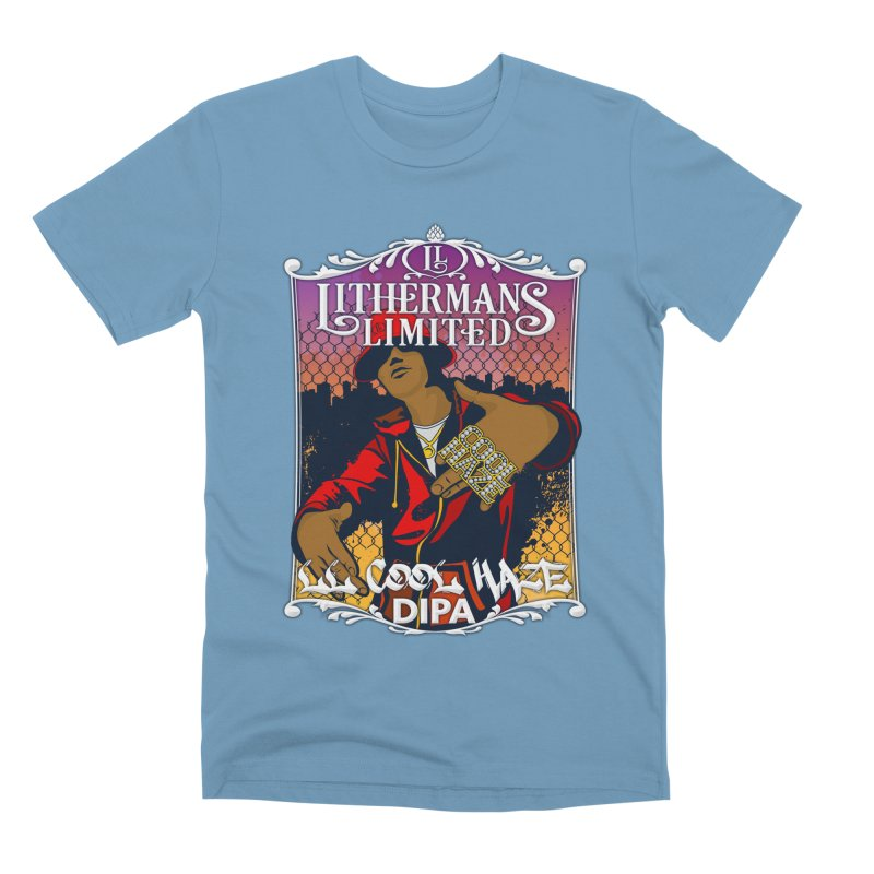 LL Cool Haze Men's Premium T-Shirt by Lithermans Limited Print Shop