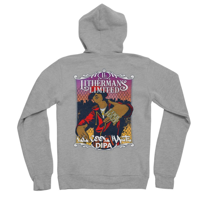 LL Cool Haze Women's Sponge Fleece Zip-Up Hoody by Lithermans Limited Print Shop