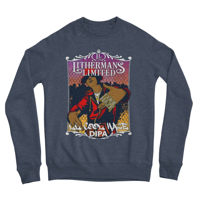 LL Cool Haze Men's Sponge Fleece Sweatshirt by Lithermans Limited Print Shop
