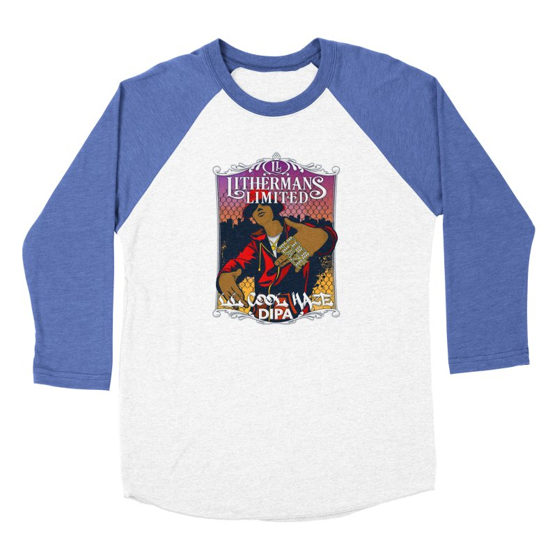 LL Cool Haze Women's Baseball Triblend Longsleeve T-Shirt by Lithermans Limited Print Shop