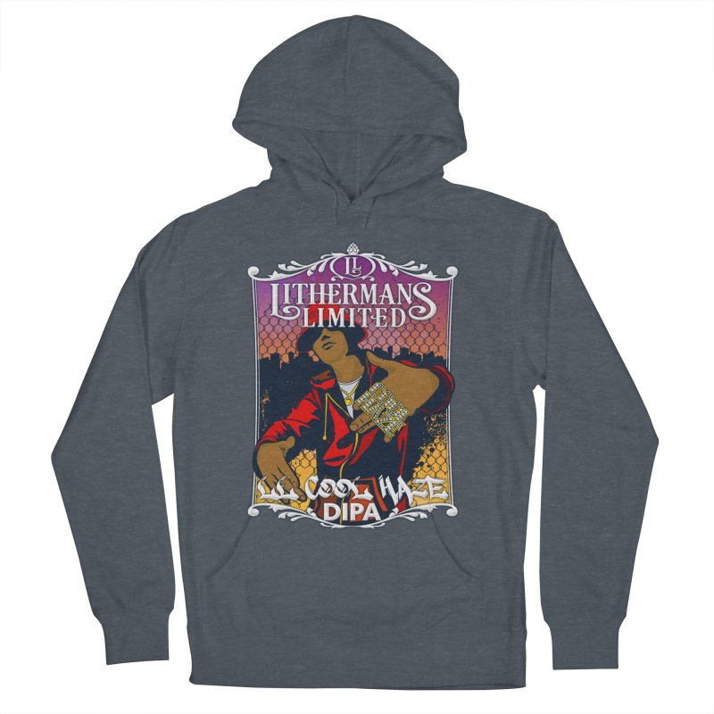 LL Cool Haze Women's French Terry Pullover Hoody by Lithermans Limited Print Shop