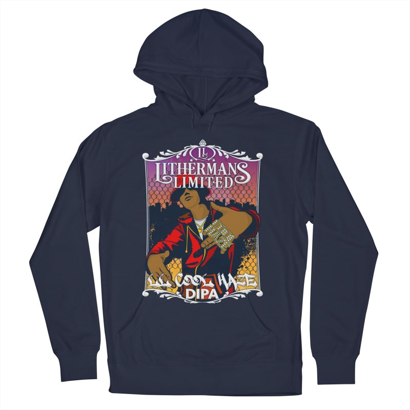 LL Cool Haze Men's French Terry Pullover Hoody by Lithermans Limited Print Shop