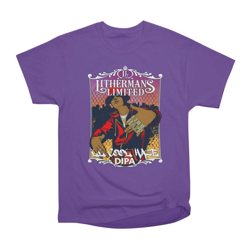 LL Cool Haze Women's Heavyweight Unisex T-Shirt by Lithermans Limited Print Shop