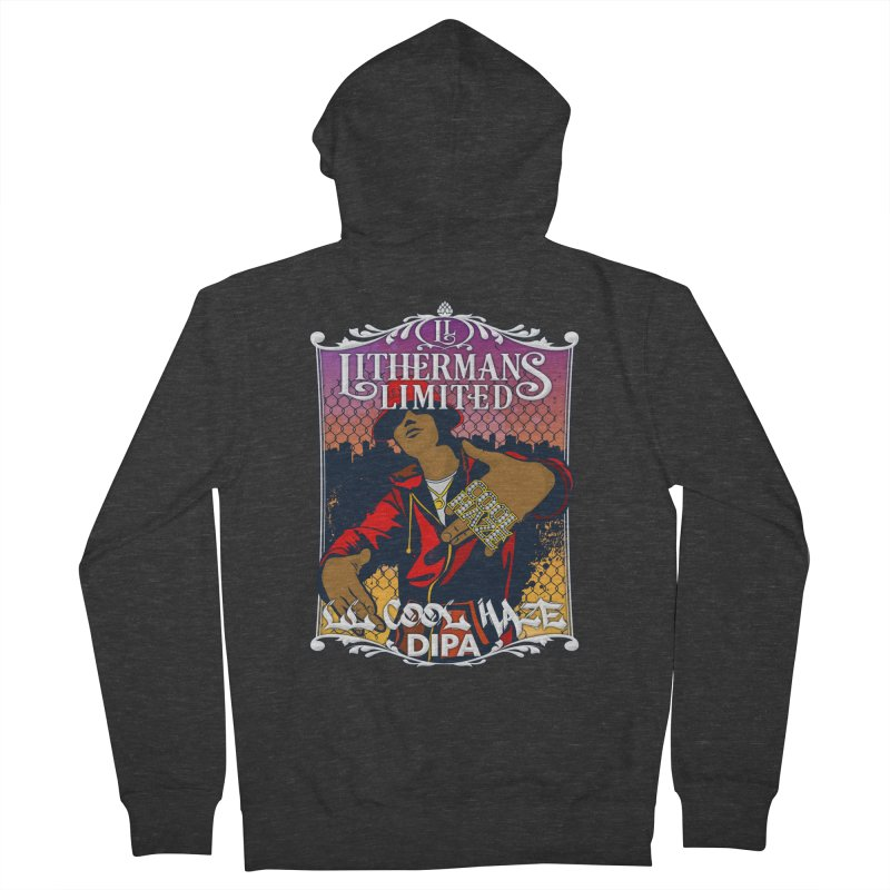 LL Cool Haze Women's French Terry Zip-Up Hoody by Lithermans Limited Print Shop