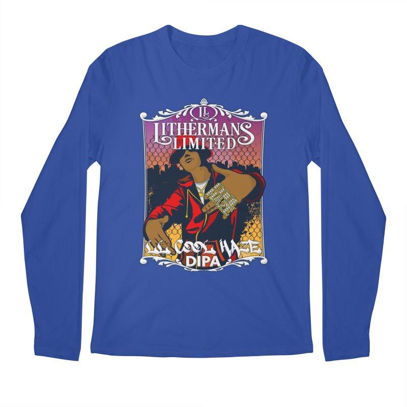 LL Cool Haze Men's Regular Longsleeve T-Shirt by Lithermans Limited Print Shop