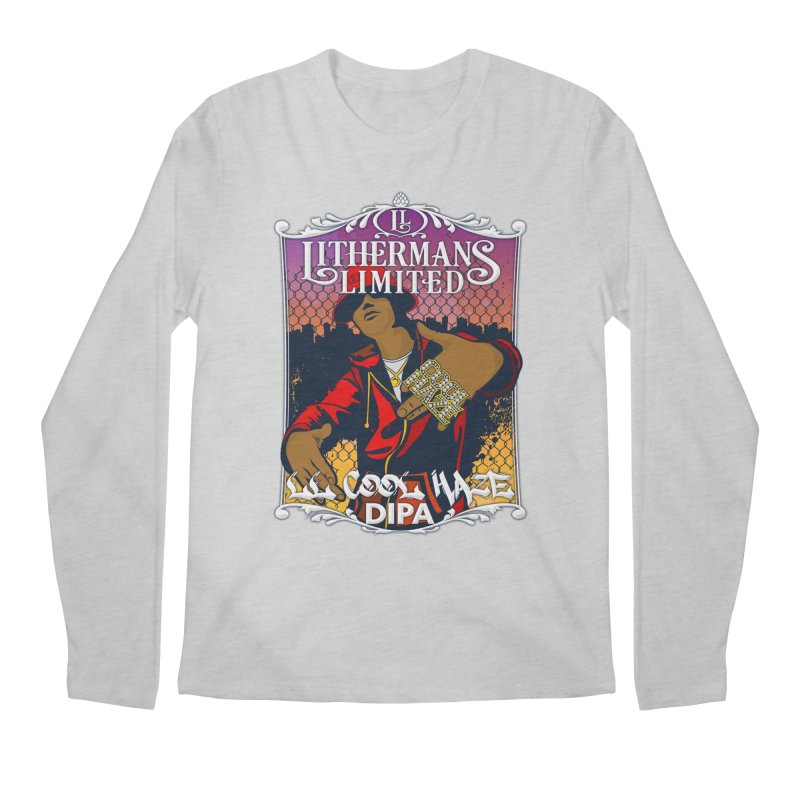LL Cool Haze Men's Regular Longsleeve T-Shirt by Lithermans Limited Print Shop