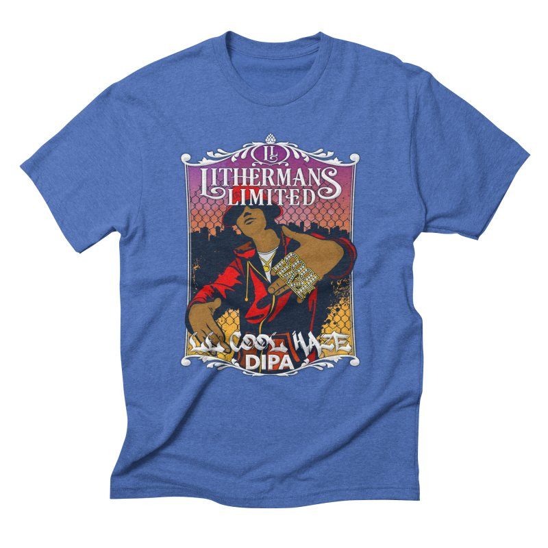 LL Cool Haze Men's Triblend T-Shirt by Lithermans Limited Print Shop