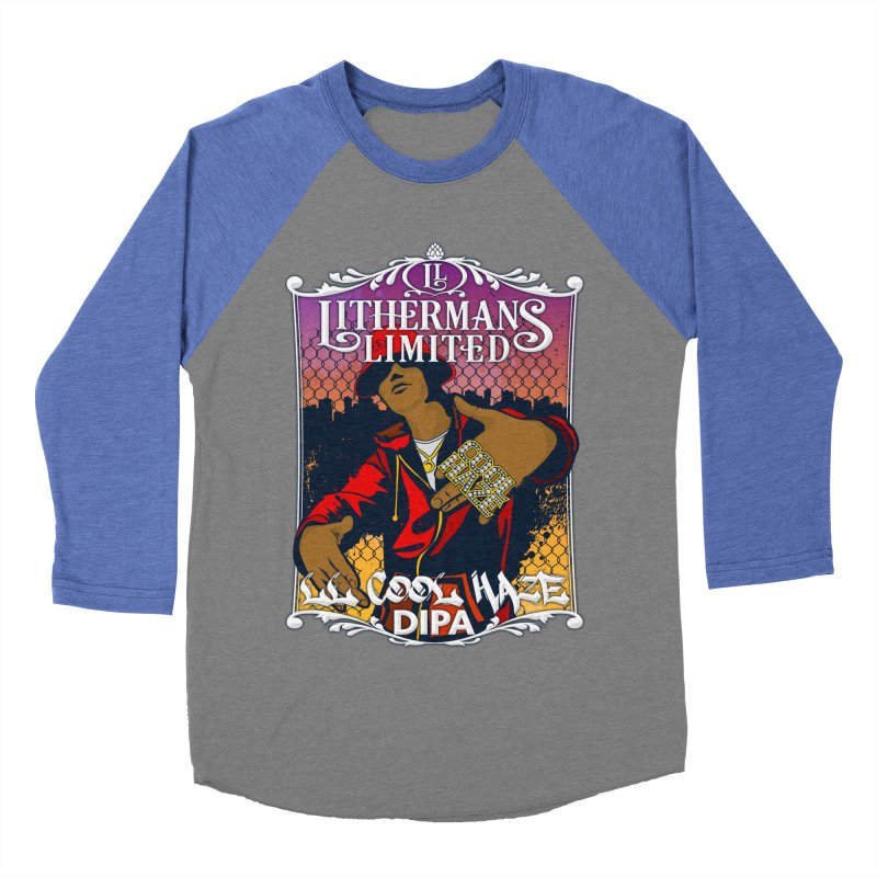 LL Cool Haze Men's Baseball Triblend Longsleeve T-Shirt by Lithermans Limited Print Shop