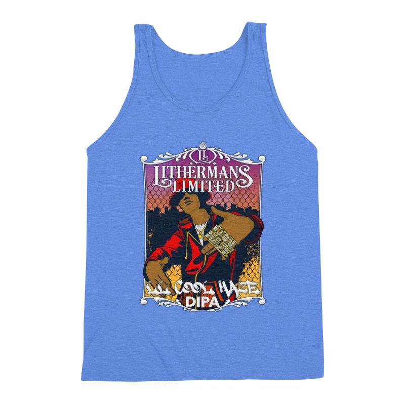 LL Cool Haze Men's Triblend Tank by Lithermans Limited Print Shop