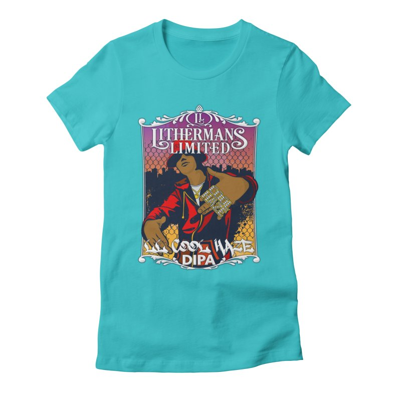 LL Cool Haze Women's Fitted T-Shirt by Lithermans Limited Print Shop