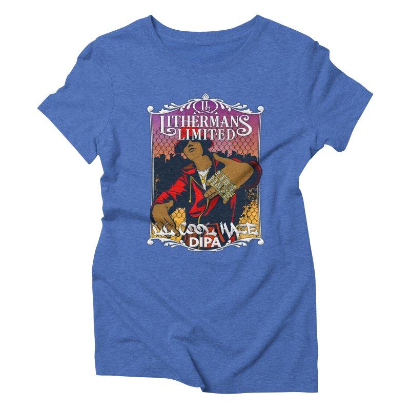 LL Cool Haze Women's Triblend T-Shirt by Lithermans Limited Print Shop