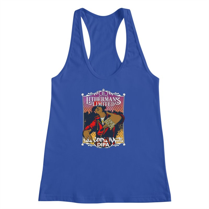 LL Cool Haze Women's Racerback Tank by Lithermans Limited Print Shop