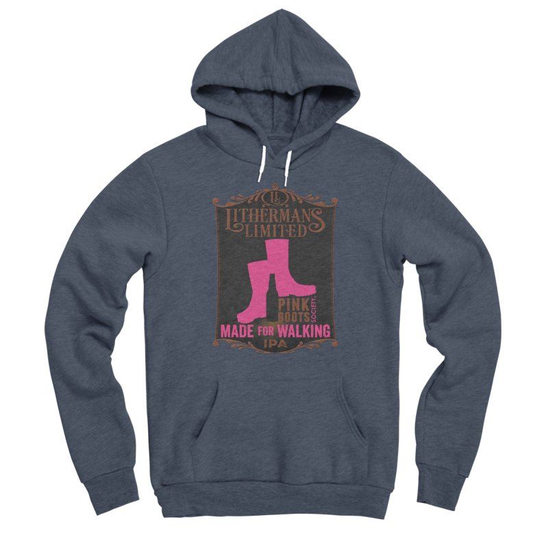 Made For Walking Women's Sponge Fleece Pullover Hoody by Lithermans Limited Print Shop