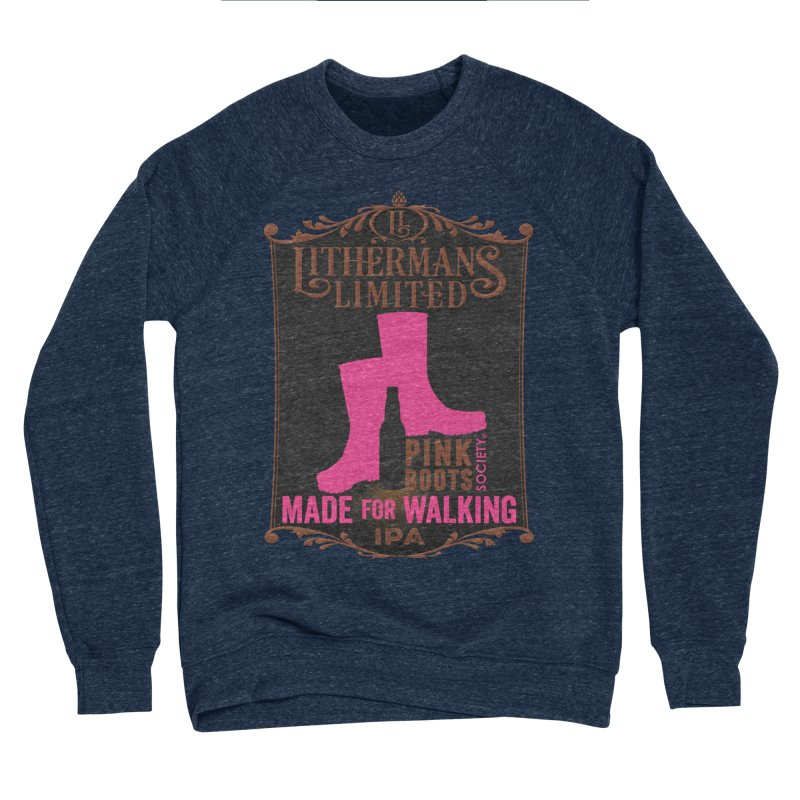 Made For Walking Men's Sponge Fleece Sweatshirt by Lithermans Limited Print Shop
