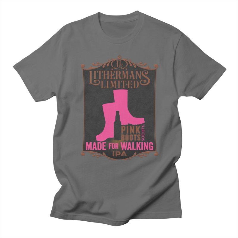 Made For Walking Men's T-Shirt by Lithermans Limited Print Shop