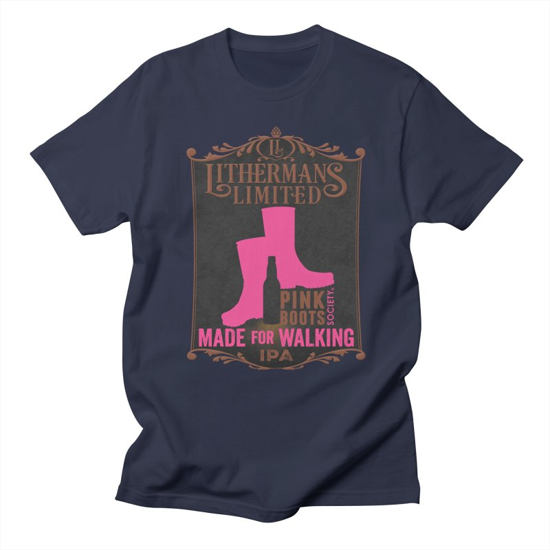 Made For Walking Women's Regular Unisex T-Shirt by Lithermans Limited Print Shop