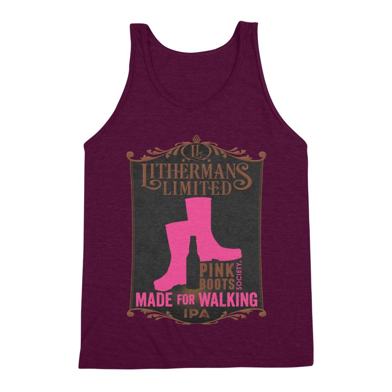 Made For Walking Men's Triblend Tank by Lithermans Limited Print Shop