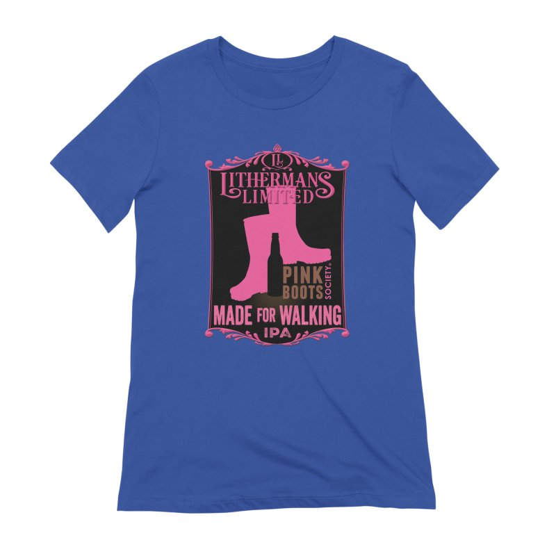 Made For Walking Women's Extra Soft T-Shirt by Lithermans Limited Print Shop