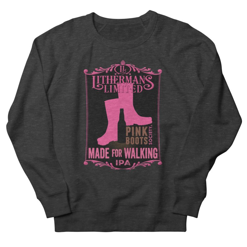 Made For Walking Men's French Terry Sweatshirt by Lithermans Limited Print Shop
