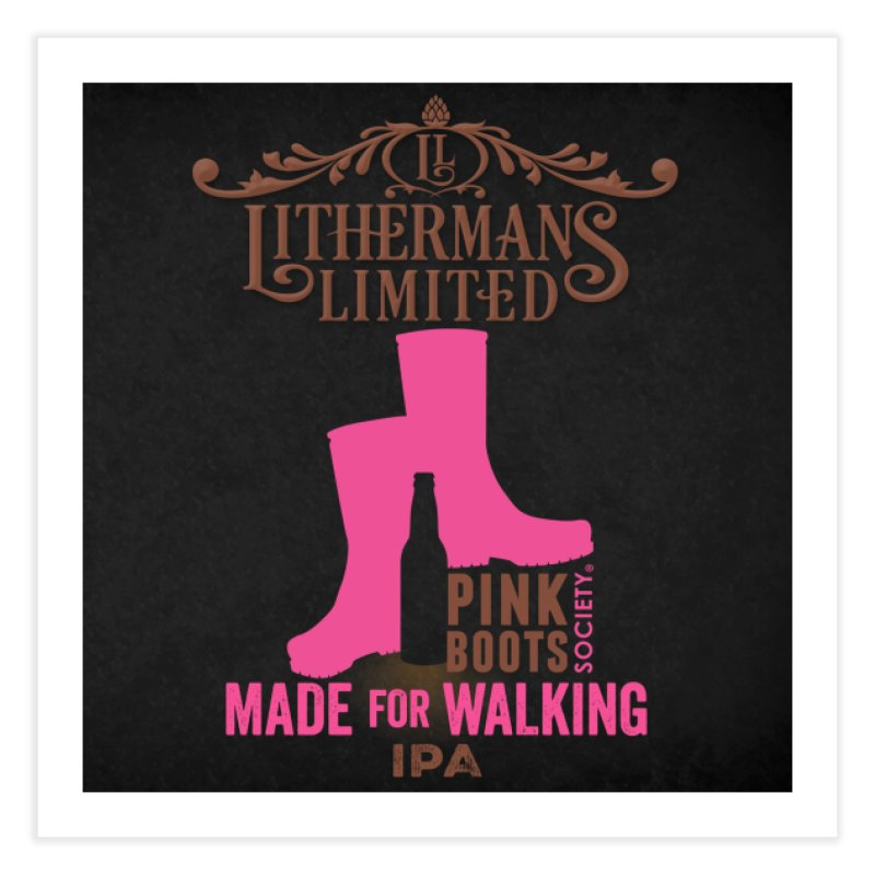 Made For Walking Home Fine Art Print by Lithermans Limited Print Shop