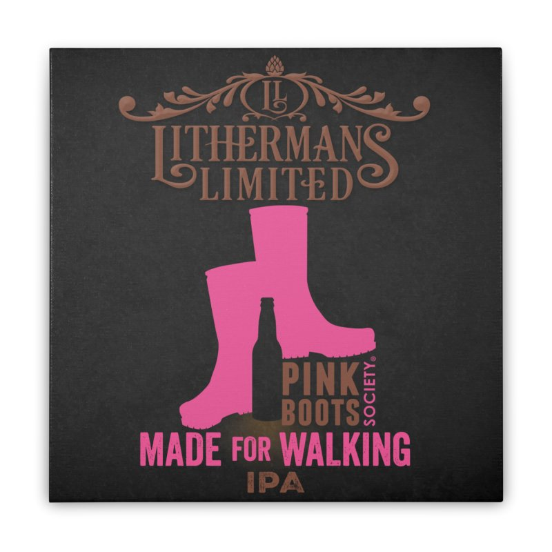 Made For Walking Home Stretched Canvas by Lithermans Limited Print Shop