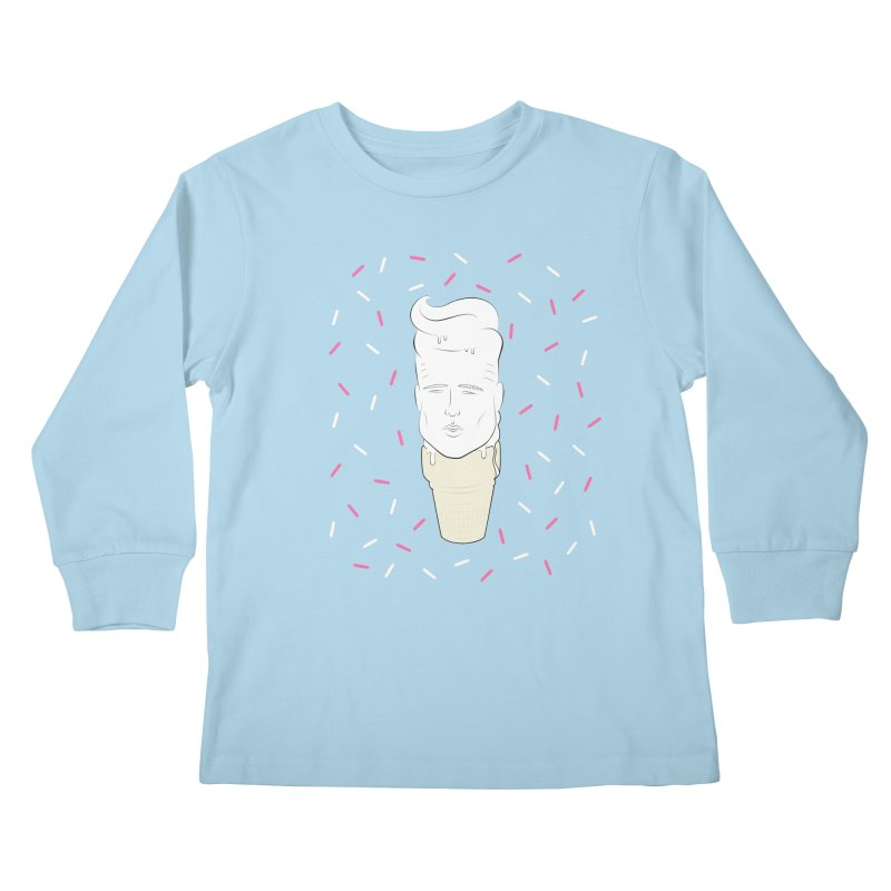 VANILLA ICECREAM Kids Longsleeve T-Shirt by litoq's Artist Shop