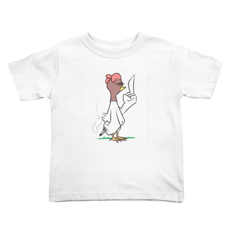 JERK CHICKEN Kids Toddler T-Shirt by litoq's Artist Shop