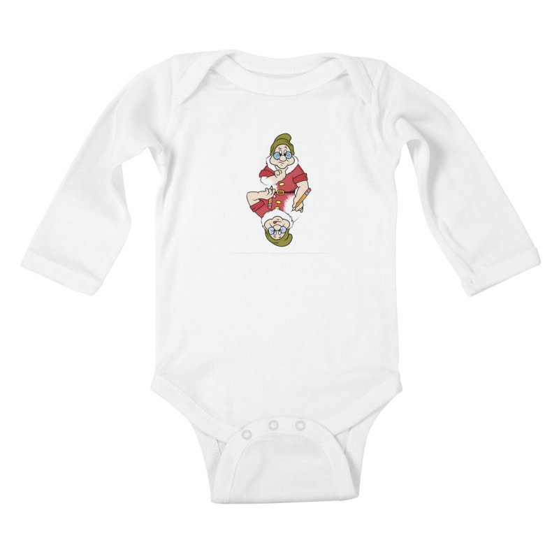 The Pair-O-Docs Paradox Kids Baby Longsleeve Bodysuit by litoq's Artist Shop
