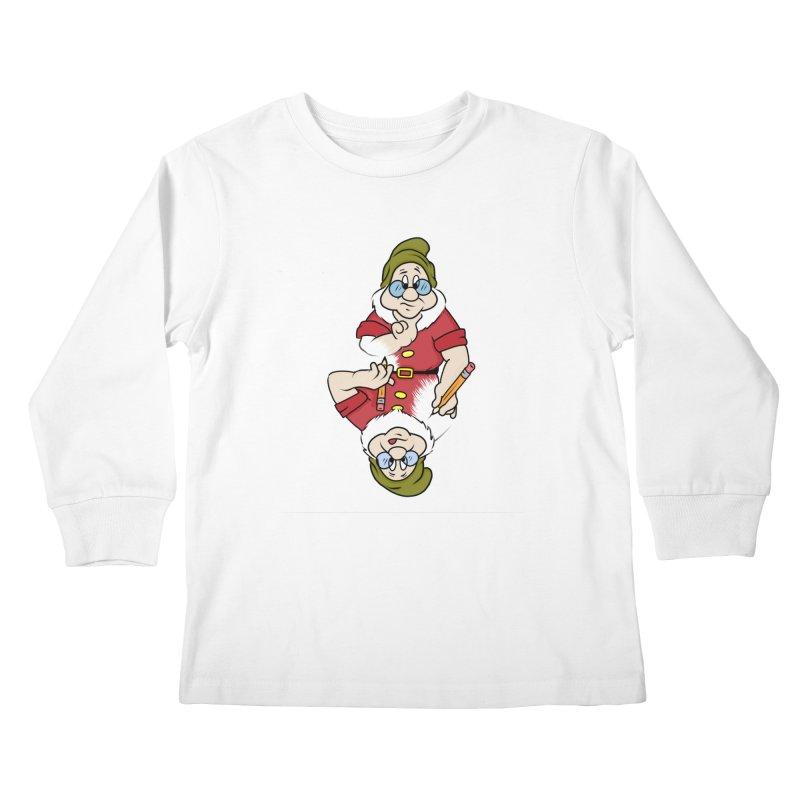 The Pair-O-Docs Paradox Kids Longsleeve T-Shirt by litoq's Artist Shop
