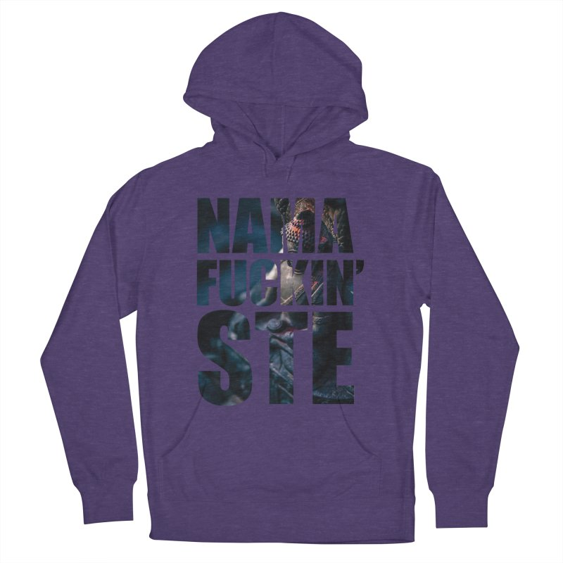 NAMAFUCKINSTE Women's French Terry Pullover Hoody by litoq's Artist Shop