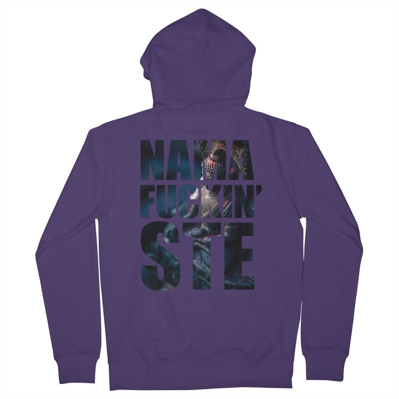 NAMAFUCKINSTE Women's French Terry Zip-Up Hoody by litoq's Artist Shop