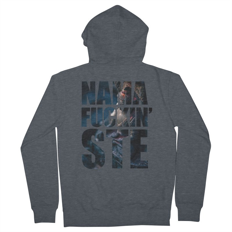 NAMAFUCKINSTE Men's French Terry Zip-Up Hoody by litoq's Artist Shop