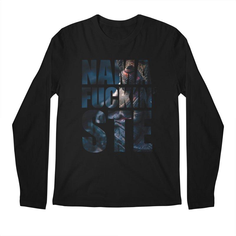 NAMAFUCKINSTE Men's Regular Longsleeve T-Shirt by litoq's Artist Shop