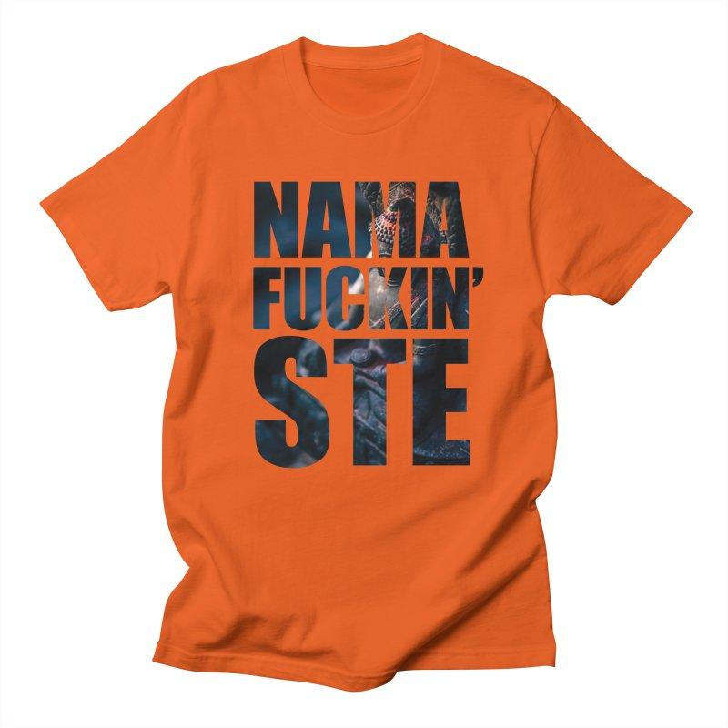 NAMAFUCKINSTE Men's Regular T-Shirt by litoq's Artist Shop